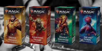 Magic The Gathering - Challenger Deck 2019 Display brand new unopened