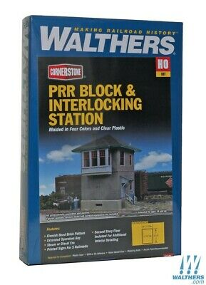 Walthers 933-2982 Pennsylvania Railroad Block & Interlocking Station Kit : HO