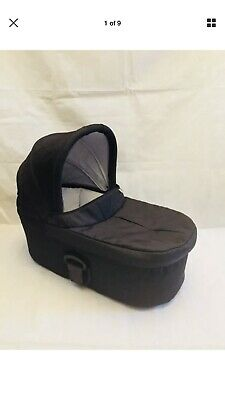MAMAS AND PAPAS SOLA2 Urbo2, Zoom Black Carrycot Also Fits Sola MTX Urbo PIXO