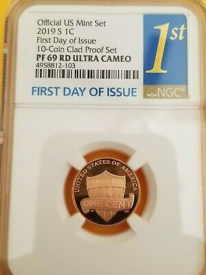 2019-S NGC PF69 LINCOLN CENT PROOF  PF 69 EARLY RELEASES #tcs