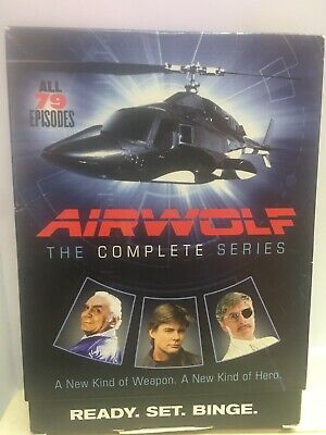 Airwolf - The Complete Series - Near MINT CONDITION - Played Once & Put Away -