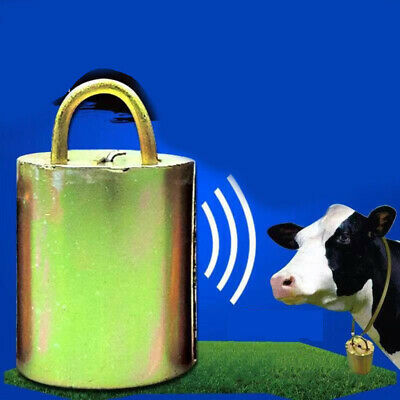 Thickened Cow Bell Ranch Horse Sheep Cattle Grazing Anti Theft Animal Useful