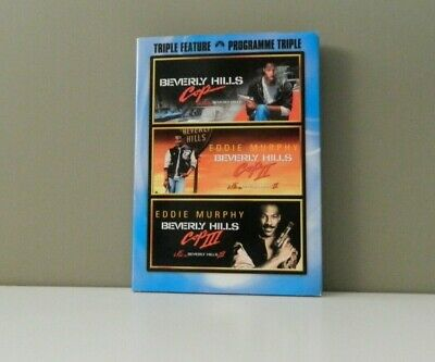 Triple Feature DVDs Beverly Hills Cop/ Beverly Hills Cop 2/ Beverly Hills Cop 3
