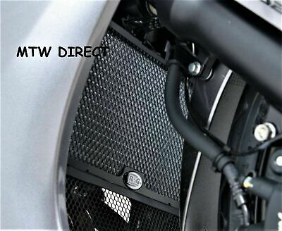 Honda CBR500R (2013-2019) R&G Racing black motorcycle radiator guard cover
