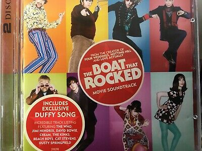 THE BOAT THAT ROCKED - Soundtrack 2 x CD 2009 Mercury OST AS NEW! 2CD