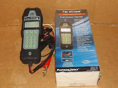 Platinum Tools T3 Innovation TLA300-1 Tel Scope Telco Line Analyzer with Cable