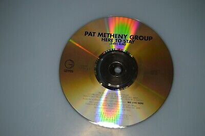 Pat Metheny Group - Here to stay. CD-SINGLE PROMO