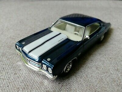 Chevrolet Chevelle SS454 1970 blue metallic (Matchbox) 1/43 !!!RARE!!!