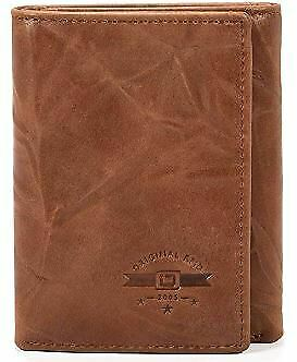 c51ac9ef6569 IDStronghold RFID Blocking Trifold Wallet for Men - Crazy Horse Western  Leather