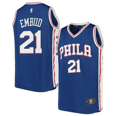 5b015597056 Fanatics Branded Joel Embiid Philadelphia 76ers Youth Royal Fast Break  Replica