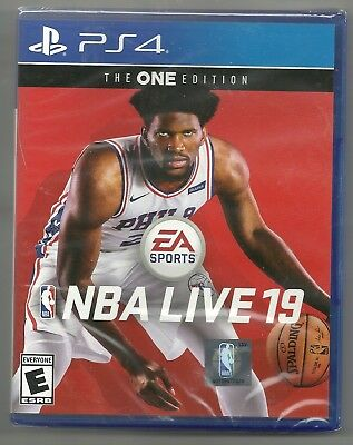 NBA Live 19 The One edition . BRAND NEW . sealed . Sony Playstation 4