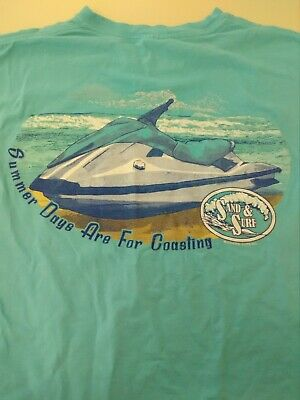 Jet Ski Adult Small T-Shirt Sand & Surf, Summer fun