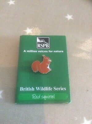 RSPB Pin Badge Red Squirrel
