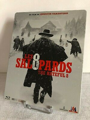LES 8 SALOPARDS (The Hateful 8) - BLU RAY - EDITION FNAC STEELBOOK - TBE