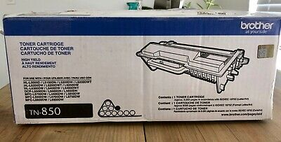 Brother High Yield Toner Cartridge TN-850 Genuine Empty IN TN850 BOX