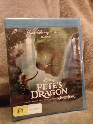 Pete's Dragon (2016) BLU-RAY - Region Free [New & UNSEALED ] cheapest on ebay