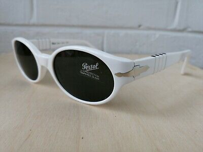 MOSCHINO PERSOL VINTAGE round pantos sunglasses made in