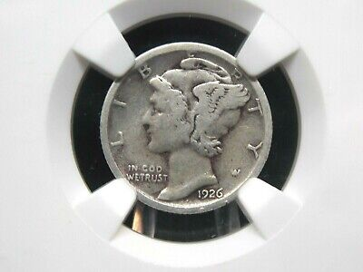 """1926 """"S"""" Mercury Silver Dime 10c NGC F12  East Coast Coin & Collectables, Inc."""