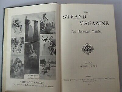 The Strand Magazine, Volumes 43 and 44, The Lost World by Arthur Conan Doyle