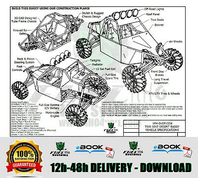Xr4 Professional Buggy Plans, Best 2 Seater Offroad Buggy