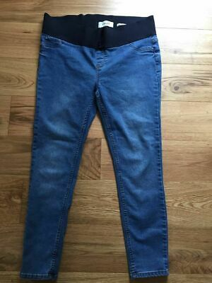 cb2a6d38d1462 New Look Emilee Maternity Under The Bump Skinny Jeans Jeggings Size 14