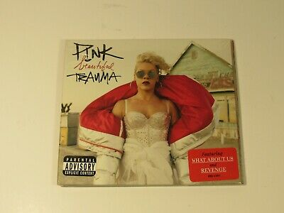 PINK Beautiful Trauma PA by P!nk CD 2017 RCA Explicit Version NEW SEALED