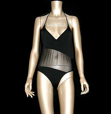 cd38bf6bdd Gucci Tom Ford 1997 Asymmetrical Sheer Illusion Swimsuit Body Décolletage  New