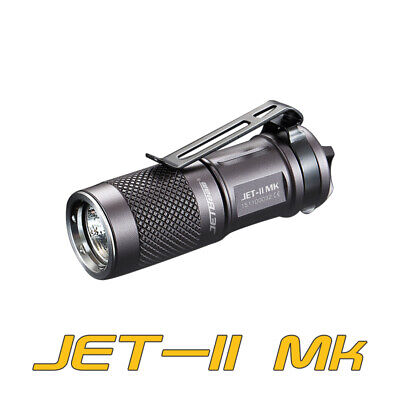 JETBeam JET-II MK CREE XP-L HI LED 510 Lumens Mini EDC Flashlight Torch 16340