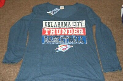 hot sale online de7f1 5c359 NIKE WOMENS NBA OKLAHOMA CITY THUNDER HOODIE Size Large ...