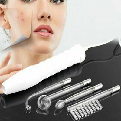 High Frequency Electrode Glass Tube Electrotherapy Facial Machine Spot Remover