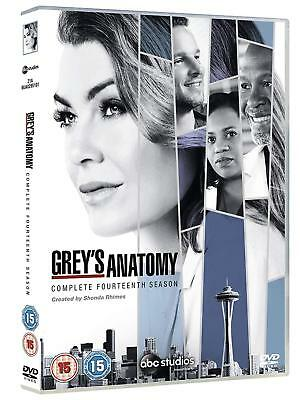 Grey's Anatomy Season 14 Complete DVD New & Sealed Region 2 UK