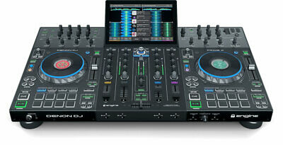 Denon DJ Prime 4 4-deck Standalone DJ System with Touch Screen