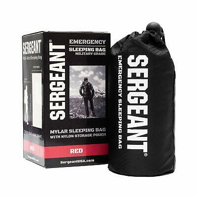 Sergeant  Emergency Sleeping Bag Extra-Thick Lightweight Military Camping Grade
