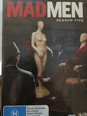MAD MEN - Season 5 3 x DVD Set Exc Cond! Complete Fifth Series Five