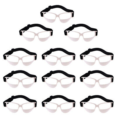 10pcs Basketball Dribble Specs Lunettes Cadre Goggles Training Aid Tool