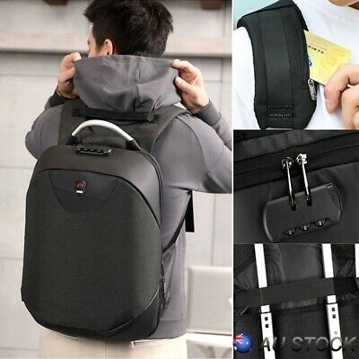 Outdoor Anti-Theft Backpack USB Port Charging High-capacity Travel Backpack AU