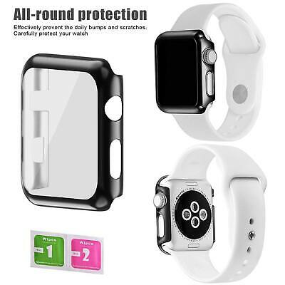 Apple Watch Series 3 Full Protective Case& Screen Protector Cover iWatch 42mm