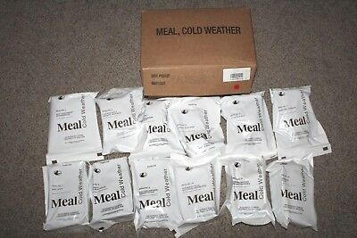 US Military Cold Weather 2021 MCW/ MRE's 12 Mountain House Dehydrated Meals