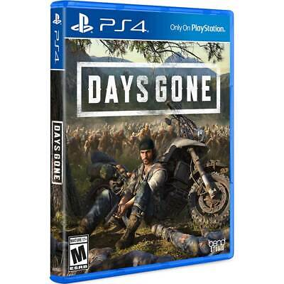 Days Gone PS4 Playstation 4 Brand New Sealed