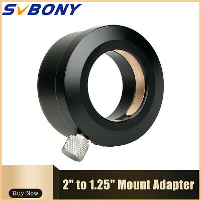 """Fully Metal 2""""Convert to 1.25"""" Telescope Eyepiece Adapter (50.8mm to 31.7mm) New"""