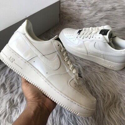 515508a6b71e6 Nike Womens Air Force 1 '07 LX LA Iridescent Summit White Size 11 898889 100