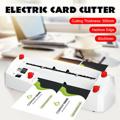 Automatic Name Card Slitter Business Card Cutting Slitting Machine Card Cutter