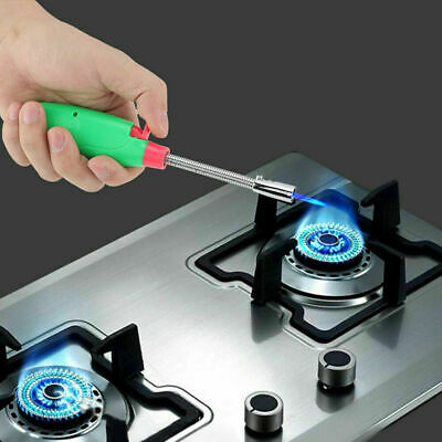 360° Adjustable Outdoor Kitchen BBQ Flexible Refillable Gas Lighter Ignition UK