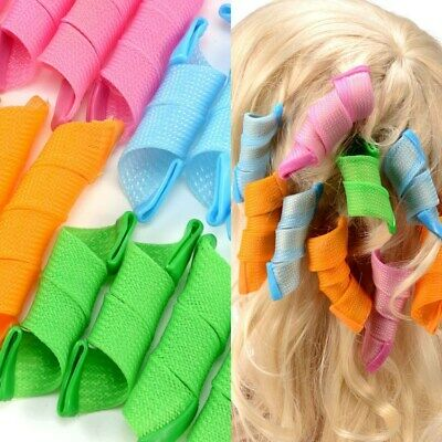 Magic Long Hair Curlers No Heat Curl Formers Leverage Rollers Spiral Ringlets