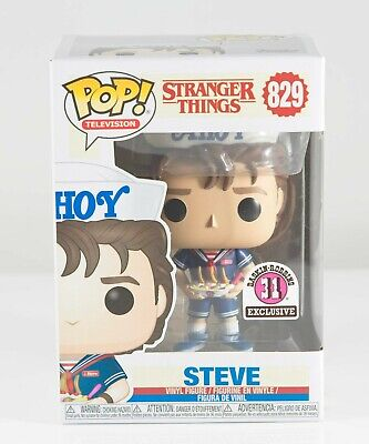 Funko Pop Television Stranger Things Steve #829 Baskin Robbins 31 Exclusive