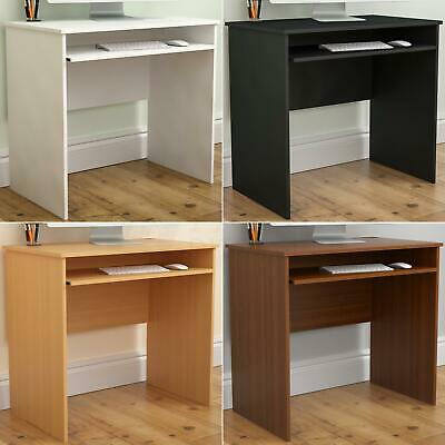 Huby Computer Desk Compact Laptop PC Table Keyboard Workstation Home Office