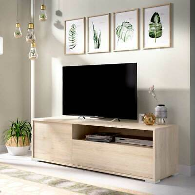 Mueble bajo TV en color Natural MONTPELLIER