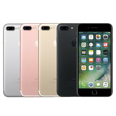 Apple iPhone 7 Plus 32GB 128GB 256GB 12.0MP iOS Mobile Smartphone All Colours