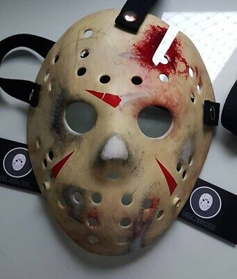 Jason Voorhees Hockey Mask Part 4 (IV) Screen Accurate Friday The 13th