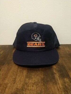 Louisville MFG. CO. Vintage 80's Chicago Bears Snapback Hat Cap USA Never Worn